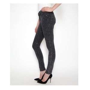 Rag & Bone Women's Legging Acid Wash Skinny Jeans
